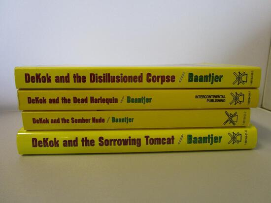 Lot of 4 Baantjer Detective Fiction Novels