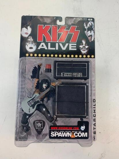 PAUL STANLEY STARCHILD With Amps KISS ALIVE McFarlane Super Stage Figure NEW