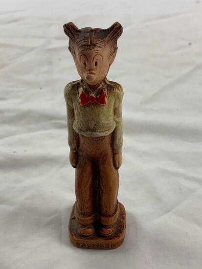 1944 Dagwood Bumstead Syroco K.F.S. Blondie Family Comic Figurine