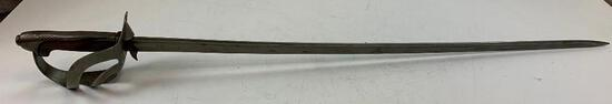 ANTIQUE ITALIAN CAVALRY SABRE SWORD From around the late 1800's