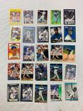 KEN GRIFFEY JR Lot of 25 Baseball Cards HOF