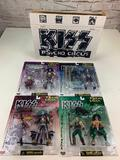 KISS Psycho Circus Ultra Action Figures 1998 McFarlane Complete Set of 4 with box NEW