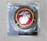Utah Marines Challenge Coin Mint Condition