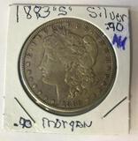 1883-S Morgan Silver Dollar 90% Silver