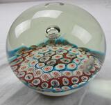Murano-style glass paperweight 3.5