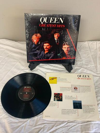 QUEEN Greatest Hits 1981 Album Vinyl Record with Shrink wrap