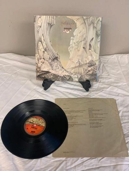 YES Relayer 1974 Album Vinyl Record