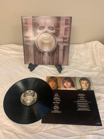 EMERSON, LAKE & PALMER Brain Salad Surgery 1973 Album Vinyl Record