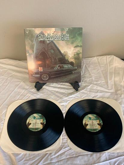 BLUE OYSTER CULT On Your Feet Or On Your Knees 1975 Album Vinyl 2X Record