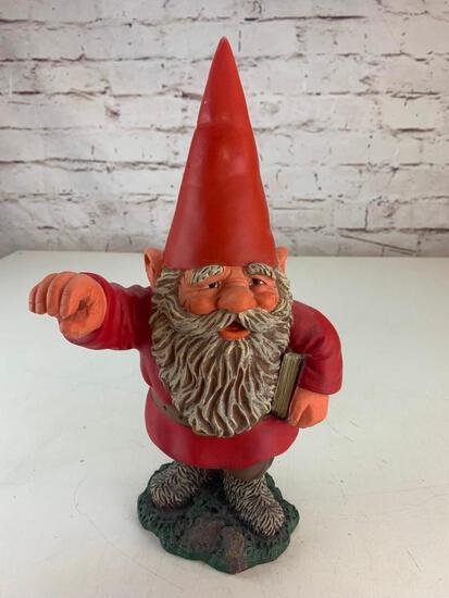"""Netherlands Rien Poortvliet Gnome 15"""" Figure"""