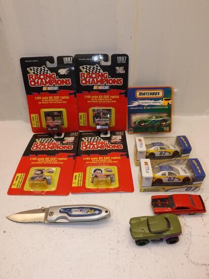 Die cast Nascar and Matchbook cars