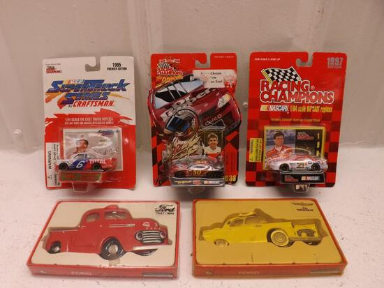Vintage Diecast Nascar cars and more