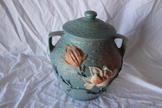 Antique Roseville Cookie Jar