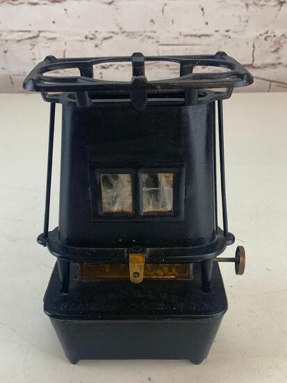 Antique Cast Iron Sad Iron Heater C.O. & .S. Co. Gardner Mass. USA