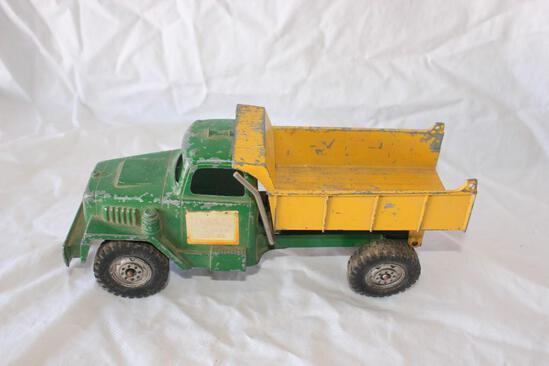 Old Vintage Hubley Pressed Steel Dump Truck