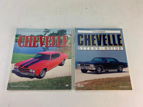 Lot of 2 Books On CHEVELLE- Illustrated Buyer's Guide and History of
