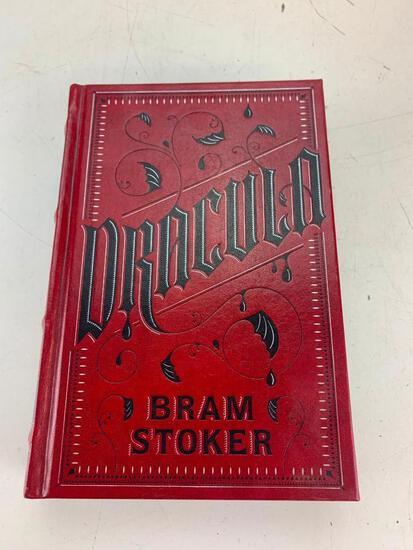 Dracula Bram Stoker Barnes & Noble Leather Hardcover Book