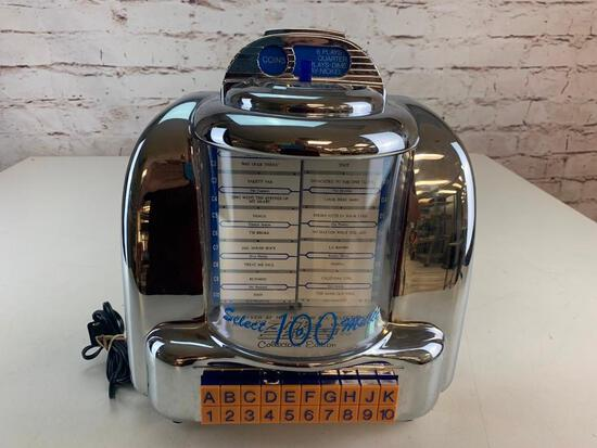 Classic CR-10 Diner Edition Jukebox Radio Cassette Player