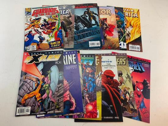 Lot of 18 MARVEL Comic Books-Punisher, Wolverine, Avengers, Thor and others