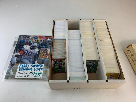 Lot of approx 3000 Football Cards from 1993-2010 Full Of STARS, ROOKIES and HOF Players