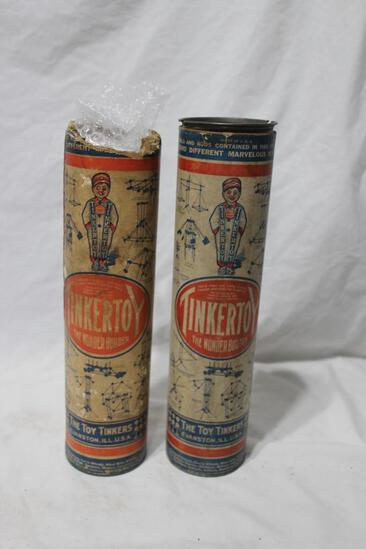 Very Rare 1920s Tinker Toy Sets