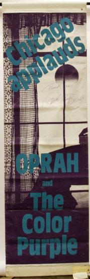 Original Canvas Banner for The Color Purple