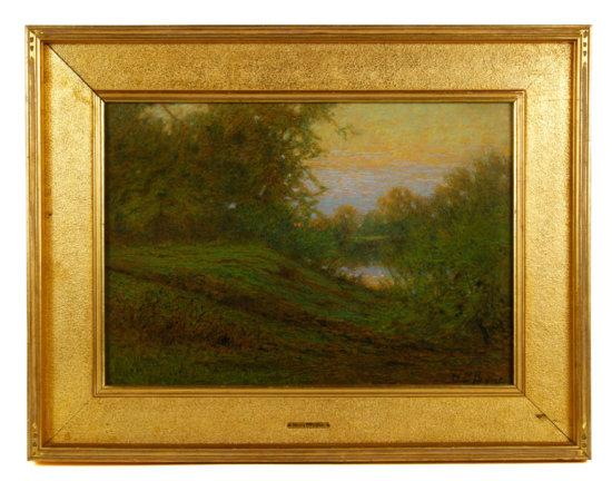 Payne, Landscape, Pastel