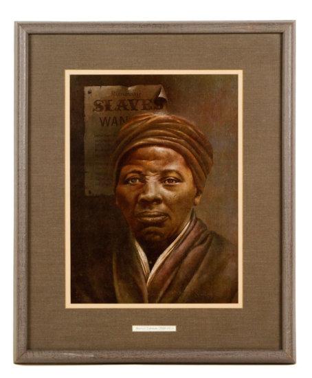 Portrait Harriet Tubman, Lithograph