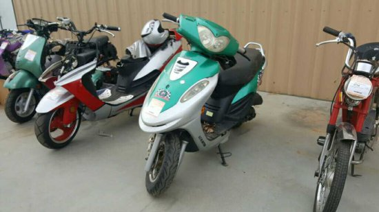 '05 GEEL Scooter Project Bike *SNT*