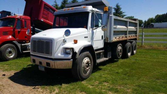 '97 Freightliner FL80 Tri Axle Dump Truck