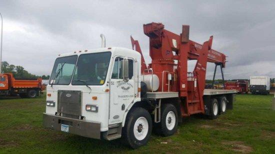 '96 Peterbilt 320 Quint Axle Crane Truck