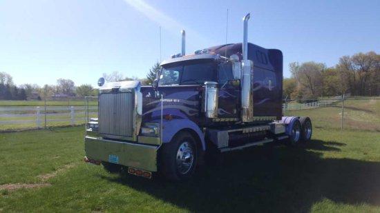 '01 WesternStar 60 Series TA Sleeper Tractor Truck