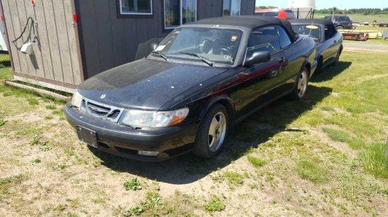 '98 Saab Convertible & Parts Car
