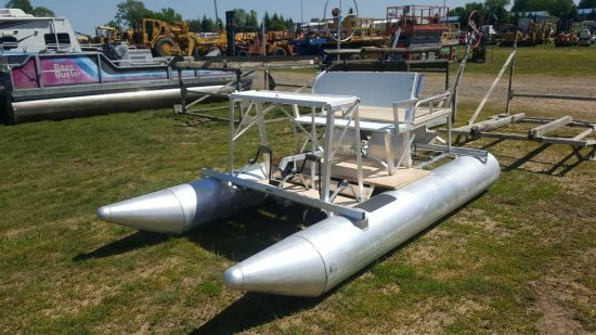 Aqua Cycle Pontoon Paddle Boat