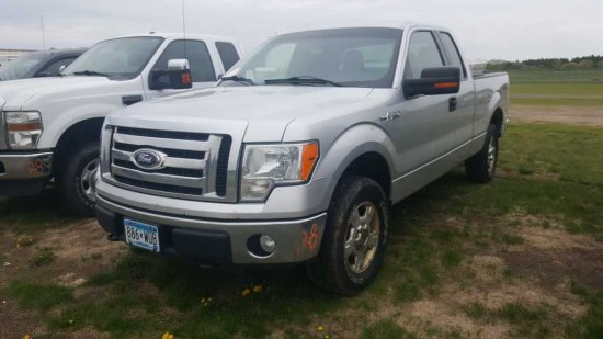 '10 Ford F150 Ext Cab Pickup Truck