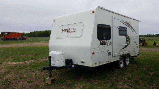 '11 Rockwood Mini Lite I-809S Travel Trailer