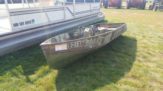 1972 11' StarCraft Fishing Boat