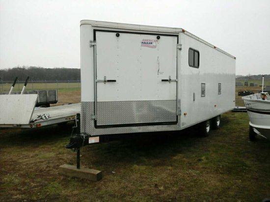 '05 American Hauler TA Enclosed Trailer