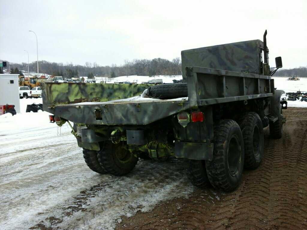 Lot: '52 GMC Deuce and a Half Military Truck | Proxibid Auctions