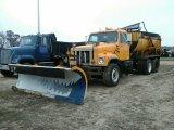 '02 International 2554 TA Dump Truck W/plow