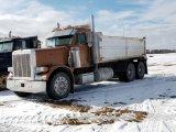 '88 Peterbilt 379 TA Dump Truck