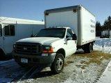 '01 Ford F550 SA Dually Van Body Truck