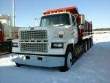 '87 Ford L9000 Tri Axle Dump Truck