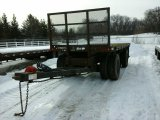'99 Kimbal TA Pup Flatbed Trailer