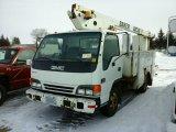 '01 Isuzu Cabover Bucket Truck