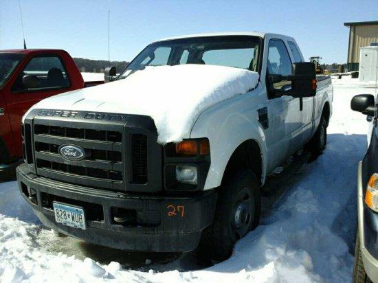 '08 Ford F250 Ex Cab Pickup Truck