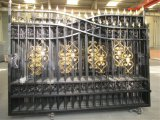 20' Heavy Duty  Wrought Iron Driveway Gate