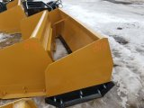 8' Snow Pusher for Skid Steer *Unsued*