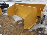 6' Snow Pusher for Skid Steer *Unused*