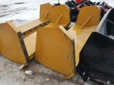 8' Snow Pusher for Skid Steer *Unused*